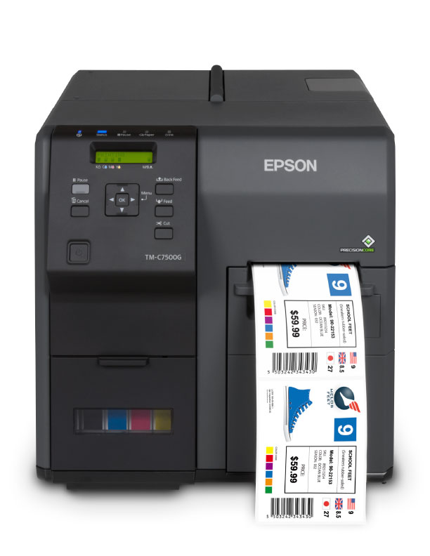 Epson TM-C7500G color label prianter