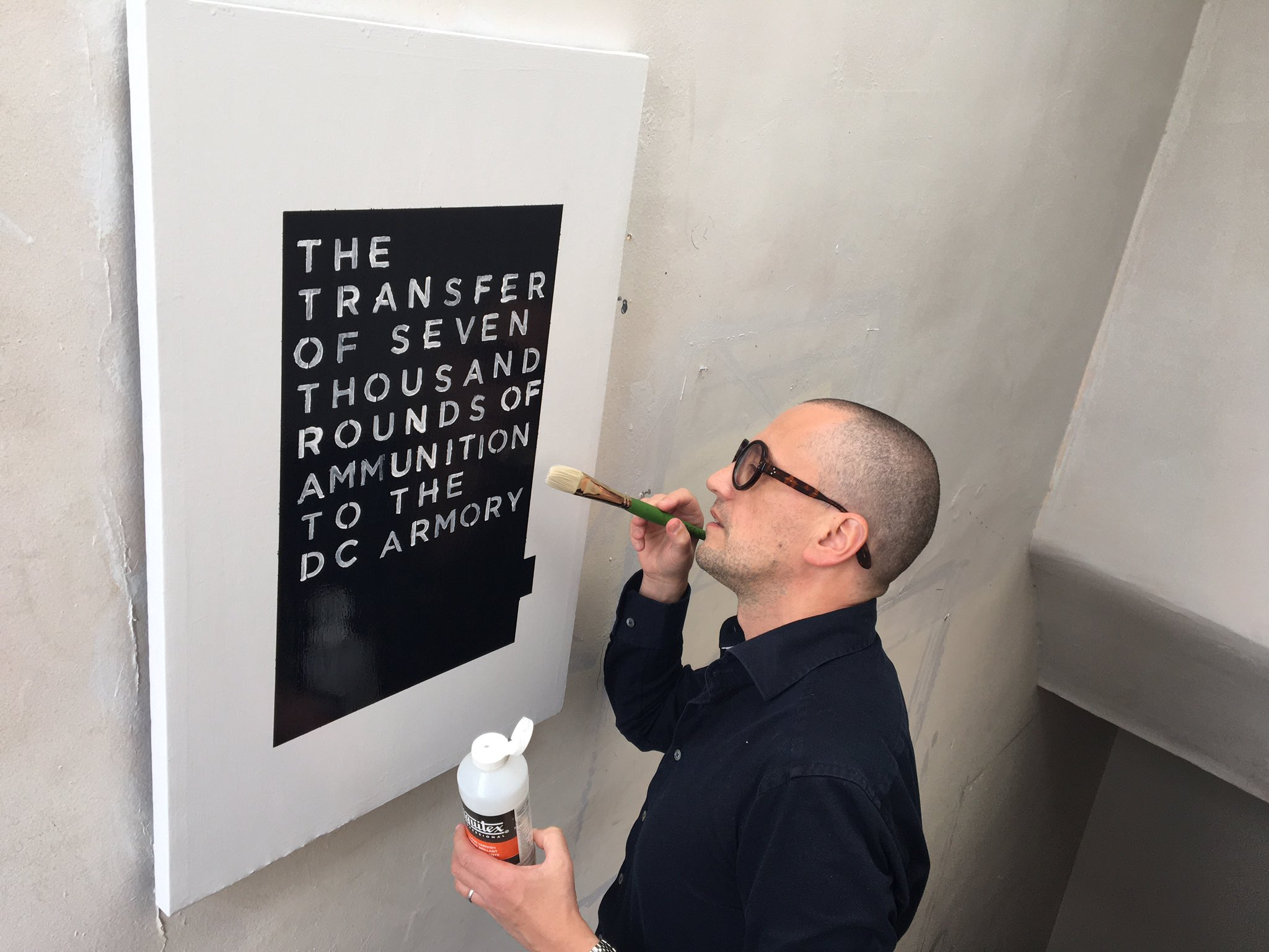 "Pierre Gervois Painting ""The Transfer""(2020)"
