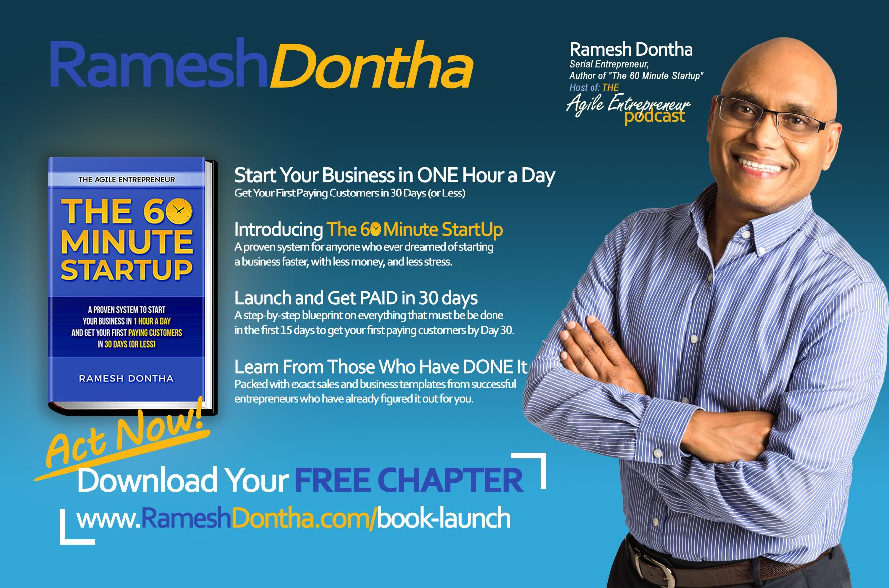 Ramesh Dontha - The 60 Minute Startup